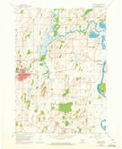 Download a high-resolution, GPS-compatible USGS topo map for Waterloo, WI (1972 edition)