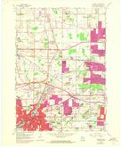 Download a high-resolution, GPS-compatible USGS topo map for Waukesha, WI (1973 edition)