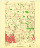 Download a high-resolution, GPS-compatible USGS topo map for Waukesha, WI (1961 edition)