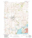 Download a high-resolution, GPS-compatible USGS topo map for Waunakee, WI (1984 edition)