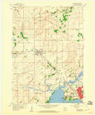 Download a high-resolution, GPS-compatible USGS topo map for Waunakee, WI (1960 edition)
