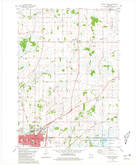 Download a high-resolution, GPS-compatible USGS topo map for Waupun North, WI (1981 edition)