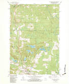 Download a high-resolution, GPS-compatible USGS topo map for Wausaukee North, WI (1983 edition)