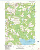 Download a high-resolution, GPS-compatible USGS topo map for Wausaukee South, WI (1983 edition)