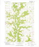 Download a high-resolution, GPS-compatible USGS topo map for Waverly, WI (1978 edition)