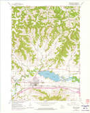Download a high-resolution, GPS-compatible USGS topo map for West Salem, WI (1975 edition)