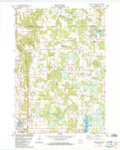 Download a high-resolution, GPS-compatible USGS topo map for Westfield East, WI (1984 edition)