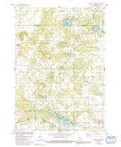 Download a high-resolution, GPS-compatible USGS topo map for Westfield West, WI (1991 edition)
