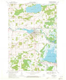 Download a high-resolution, GPS-compatible USGS topo map for Weyauwega, WI (1971 edition)