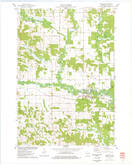 Download a high-resolution, GPS-compatible USGS topo map for Wheeler, WI (1978 edition)