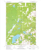 Download a high-resolution, GPS-compatible USGS topo map for White Potato Lake, WI (1977 edition)