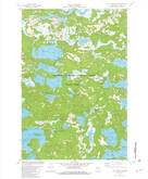 Download a high-resolution, GPS-compatible USGS topo map for White Sand Lake, WI (1982 edition)