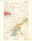 Download a high-resolution, GPS-compatible USGS topo map for Whitewater, WI (1972 edition)