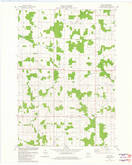 Download a high-resolution, GPS-compatible USGS topo map for Wien, WI (1982 edition)