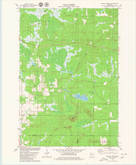 Download a high-resolution, GPS-compatible USGS topo map for Wildcat Mound, WI (1980 edition)