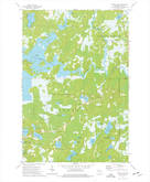 Download a high-resolution, GPS-compatible USGS topo map for Wilson Lake, WI (1976 edition)