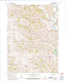 Download a high-resolution, GPS-compatible USGS topo map for Wiota, WI (1992 edition)