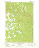 Download a high-resolution, GPS-compatible USGS topo map for Wood Lake, WI (1980 edition)