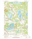 Download a high-resolution, GPS-compatible USGS topo map for Wyeville, WI (1990 edition)