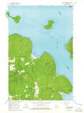 Download a high-resolution, GPS-compatible USGS topo map for York Island, WI (1965 edition)