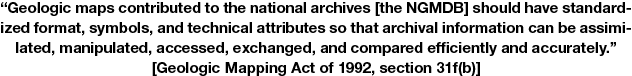 Quote from the Geologic Mapping Act of 1992